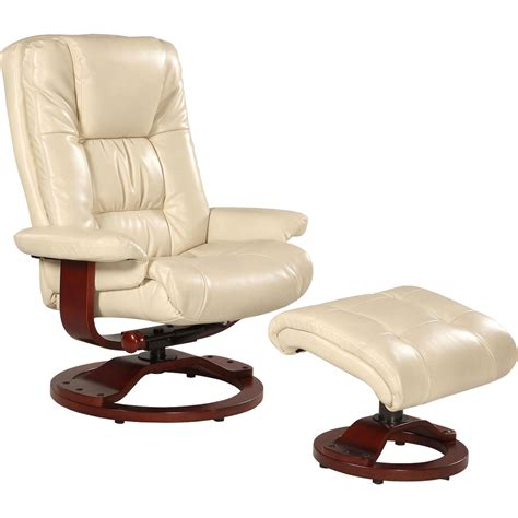 mac motion oslo swivel recliner and ottoman set chairs