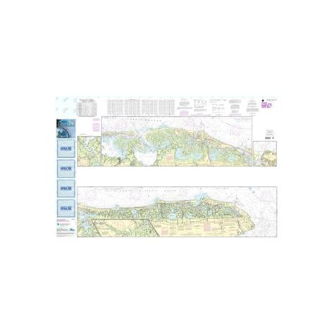 oceangrafix noaa nautical charts  intracoastal waterway  egg harbor  cape