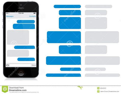 box app for iphone smart phone chat window app editorial photo image