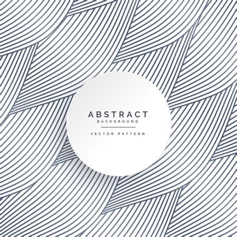 Abstract Shapes And Lines by Abstract Background With Shapes And Wavy Lines Vector