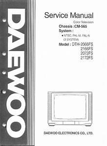 Daewoo Cn789s Chassis Dtq29u9fs Tv Sm Service Manual Free