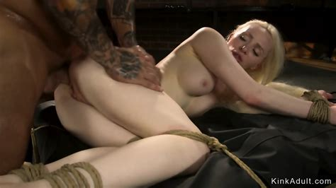 Hot Russian Blonde Is Bdsm Anal Fucked Eporner