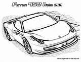 Ferrari Coloring Pages Ff Drawing Italia Draw Boyama sketch template