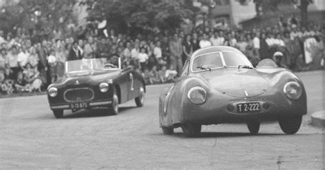 Otto Mathe And The Porsche T64 . . The Beginning