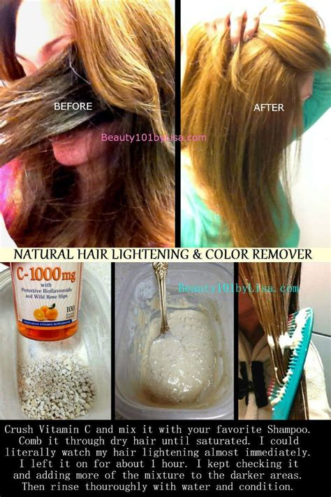 Ways To Lighten Hair Without Damaging It by Diy At Home Hair Lightening Color Removal
