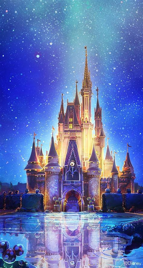 Disney World Castle Wallpaper by Cinderella Castle More Disney Iphone Wallpapers