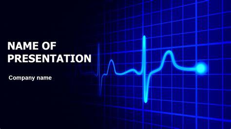 heart cardiogram powerpoint template