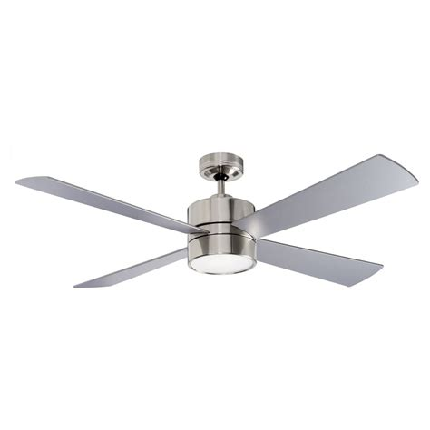 Ceiling Fan With by 52 Quot 1300mm Fanworks Impreza Brushed Chrome Ceiling Fan
