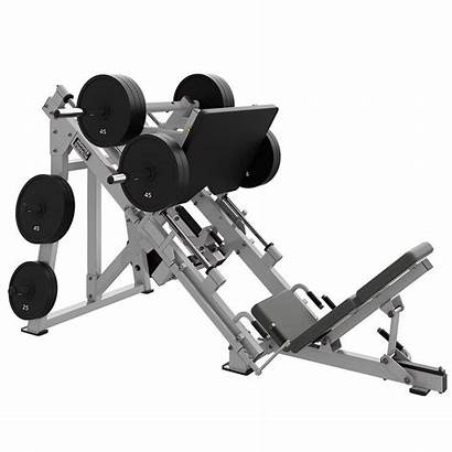 Leg Strength Hammer Press Plate Loaded Linear