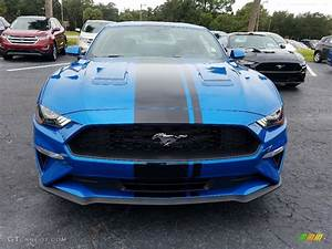 2019 Velocity Blue Ford Mustang EcoBoost Fastback #129797206 Photo #8 | GTCarLot.com - Car Color ...