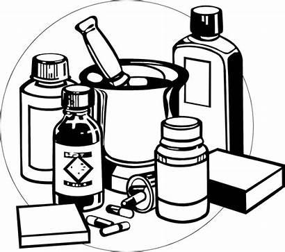 Medicine Clipart Medicines Bottle Pill Drugs Coloring