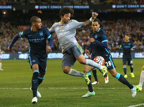 marcelo  real madrid  manchester city zimbio