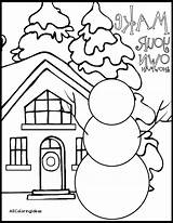 Winter Coloring Pages Wonderland Printable Preschool Kindergarten Fun Clothes Sheets Colouring Holiday Getcolorings Getdrawings Colorings Print Outdoor sketch template