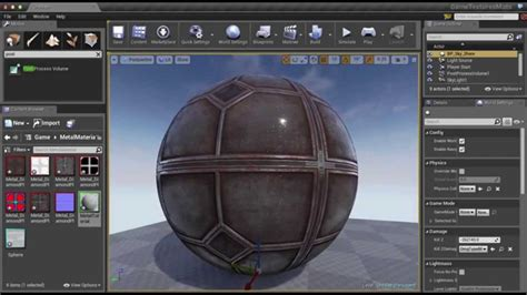 unreal engine 4 setting up a metal material youtube