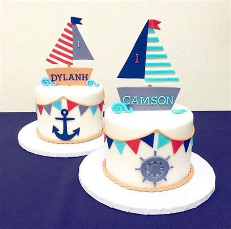 Sailboat Cake Topper by Best 25 Nautical Cake Ideas On Pinterest Sailor Cake