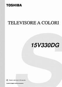Toshiba 15v330dg Service Manual Download  Schematics