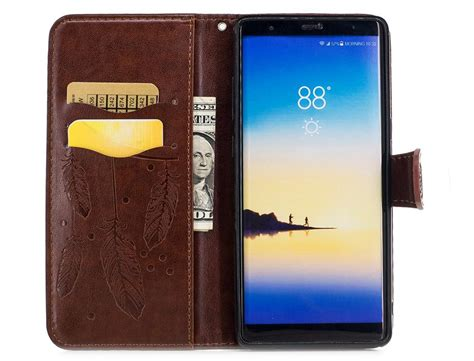 samsung galaxy note  note case flip cover leather