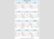 Kalendar 2018 johor 2 Printable 2018 calendar Free