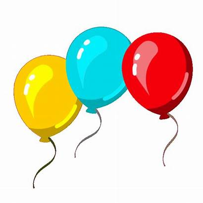 Balloons Balloon Transparent Clipart Clip Gifs Floating