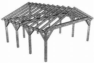 Holzpavillon Selber Bauen : carport bauanleitung aufbau kostenloser bauplan ~ Orissabook.com Haus und Dekorationen