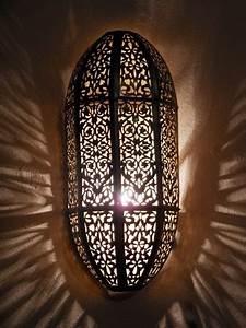 Décoration Murale Orientale : d coration orientale appliques luminaires applique murale marocaine en laiton idees deco ~ Teatrodelosmanantiales.com Idées de Décoration