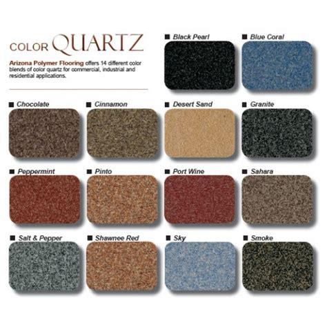 Arizona Polymer Flooring Epoxy 600 by Apf Blended Color Quartz 50 Pound Bag