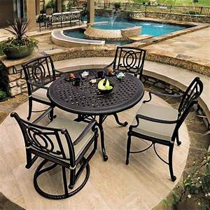 Bel Air Round Dining In Patio Furniture Galaxy Home