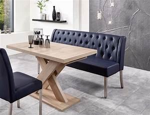 Stuhl Sonoma Eiche : tischgruppe eiche sonoma dunkelblau bank 2x stuhl s ulentisch sitzgruppe milan ebay ~ Indierocktalk.com Haus und Dekorationen