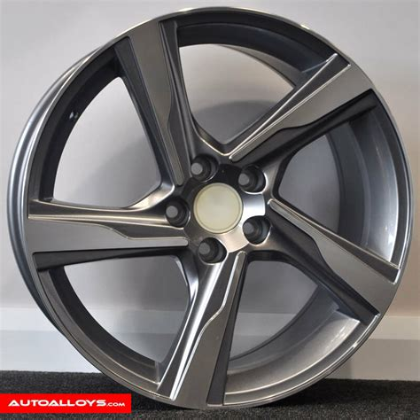 Rims For Volvo S40 by 18 Quot Volvo R Design Style Alloy Wheels And Tyres For Volvo