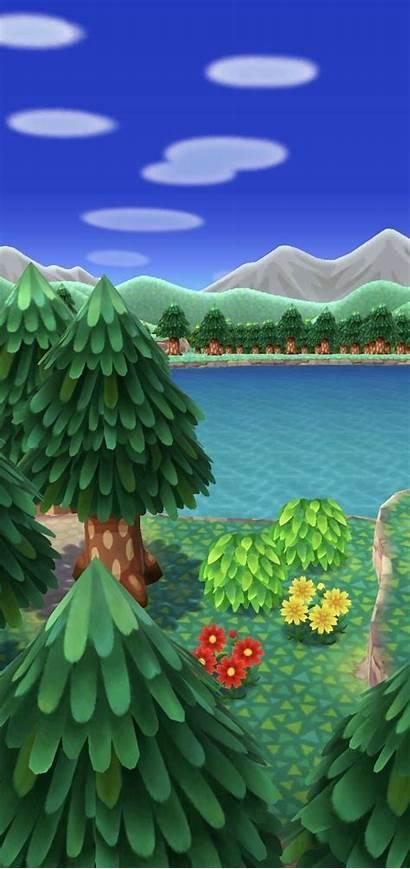 Crossing Animal Horizons Wild Forest Phone Pocket