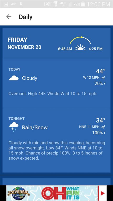 the weather channel app for android the weather channel app for android gets all new home