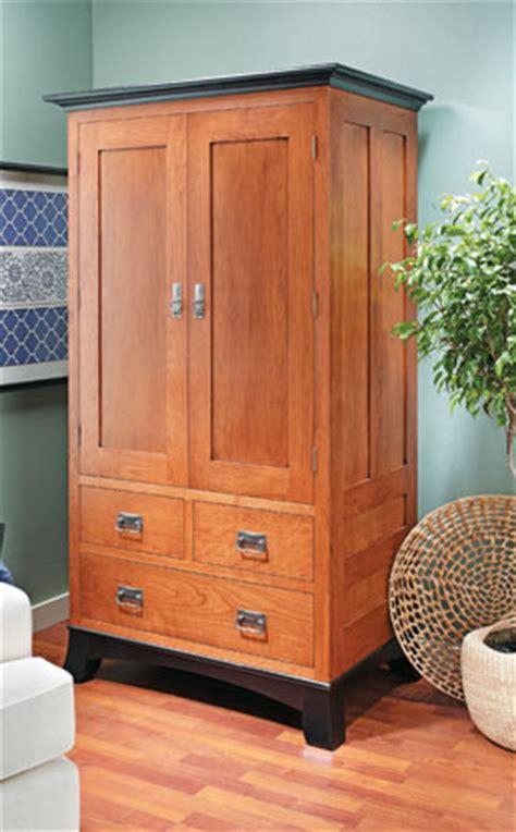 cherry armoire woodsmith plans
