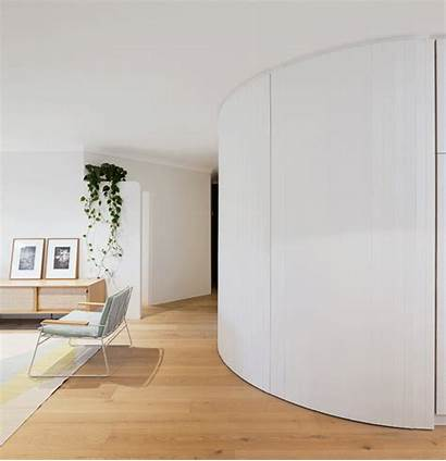Apartment Curved Bar Wall Storage Decoration Stocked