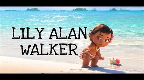 lily alan walker animated lyrics video youtube