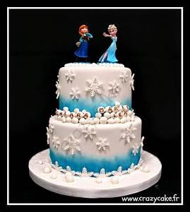 Gateau Anniversaire Reine Des Neiges : crazy cake cake design thionville metz luxembourg ~ Melissatoandfro.com Idées de Décoration