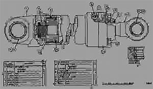 8j5663 Cylinder Group - Track-type Loader Caterpillar 951b