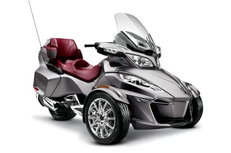 2014 Can Am Spyder by 2014 Can Am Spyder Rt Limited Grey 02 Photo 14