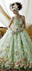 robe de mariee fleurie robes de mariee coloree pinterest With chambre bébé design avec belle robe soirée fleurie