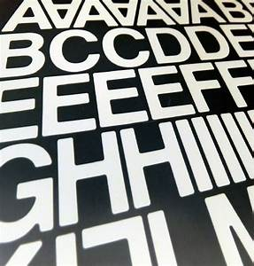 90 x 1 inch 25mm stick on self adhesive vinyl letters With self stick vinyl letters and numbers