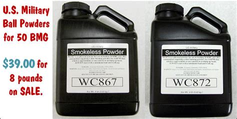50 Bmg Powder by New Powders For 50 Bmg Just 4 88 Per Pound