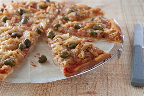 atelier de cuisine toulouse recette de pizza oignons confits et câpres facile et rapide