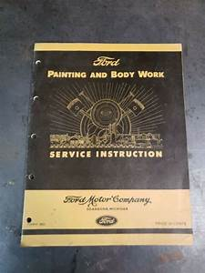 1942 Edition  U0026quot  Ford Painting And Body Work   Service