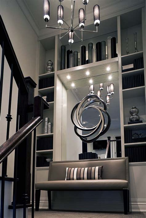 imaginative wall  stair treatments toronto star