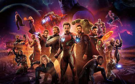 avengers infinity war international poster