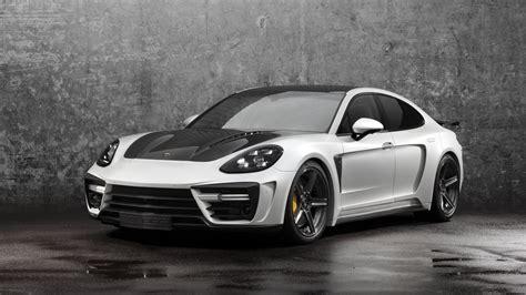 Porche Car : 2018 Porsche Panamera Stingray Gtr By Topcar Review