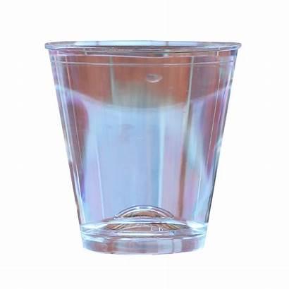 Shot Money Clear Designer Shotglass