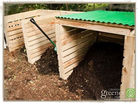 how to make a composter building a pallet compost bin growing a greener world 174