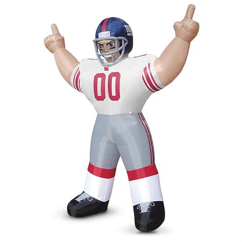 gifts for new york giants fans inflatable images inflatable sports fans nfl 171293