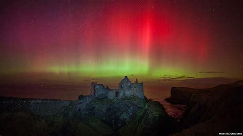 ireland northern lights northern lights shine across northern ireland news