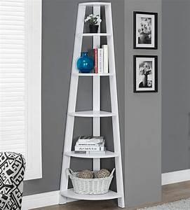 Petite Etagere De Coin : corner etagere in free standing shelves ~ Edinachiropracticcenter.com Idées de Décoration